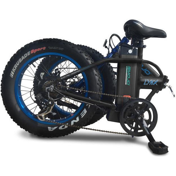 Emojo Lynx 36 Volts 500 Watts 10 Amp Hours 20 Inch Fat Tires Folding Electric Bike