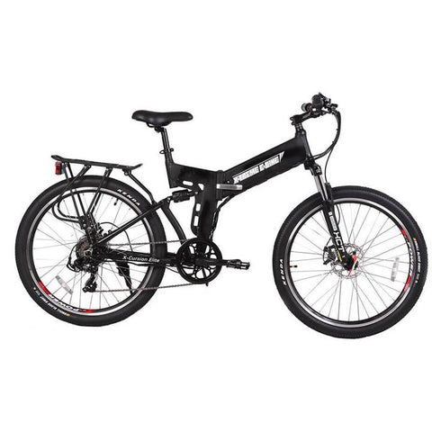 X-Treme X-Cursion Elite Max 36 Volts 350 Watts 10 Amp Hours 26 Inch Tires Folding Electric Mountain Bike