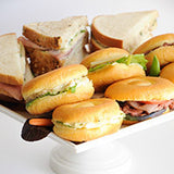 mixed sandwich tray