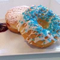 Hanukkah‎ three bite doughnut