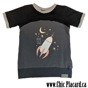 T-shirt Reach the stars  5 ans