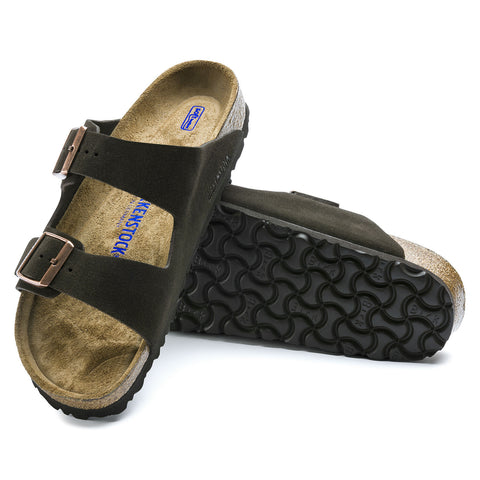 Arizona Soft Footbed Suede Leather Mocha