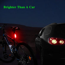 Load image into Gallery viewer, Volcano eye Bike Rear Light With 7 Light Modes