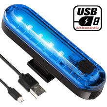Load image into Gallery viewer, Volcano Eye Rear Bike Tail Light (Blue)