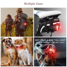 Load image into Gallery viewer, Rear Bike Tail Light 2 Pack (Red)