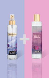 Midnight Kisses Fine Fragrance Mist and Midnight Kisses Fragrance Body Wash