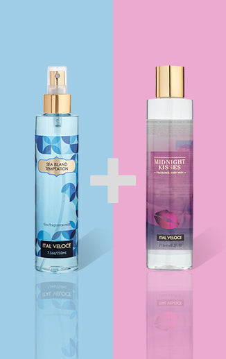 Sea Island Fine Temptation Fragrance Mist and Midnight Kisses Fragrance Body Wash