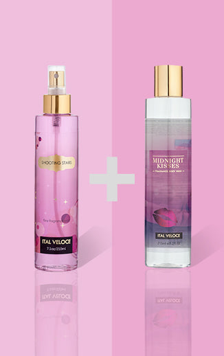 Shooting Stars Fragrance Mist and Midnight Kisses Fragrance Body Wash