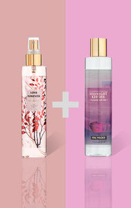 Love Forever Fine Fragrance Mist and Midnight Kisses Fragrance Body Wash