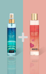 Northern Lights Fine Fragrance Mist and Chii Town Blushes Fragrance Body Wash