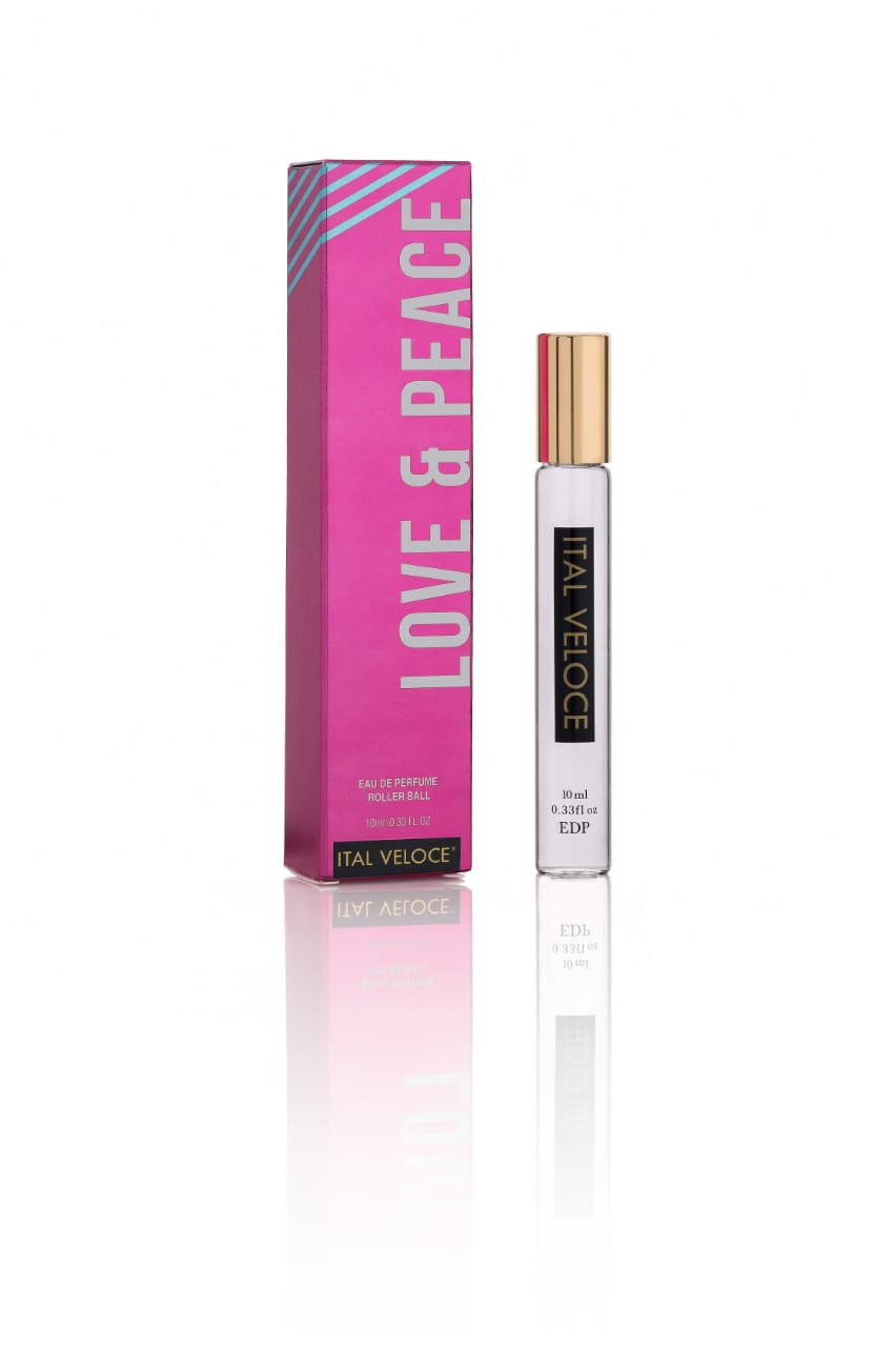 ital-veloce,Love and Peace Eau De Perfume Roller Ball 10 ml,Ital Veloce,