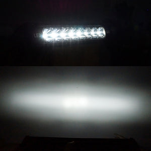 22inch 72w LED Light Bar Single Row RGB
