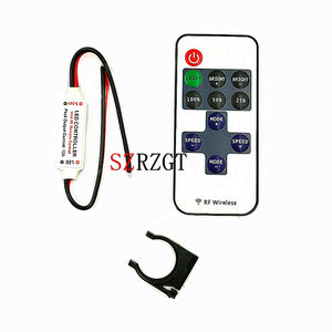 Mini Led Controller Dimmer RF Remote Control
