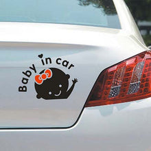 "Load image into Gallery viewer, ""Baby In Car"" Decals Stickers PVC reflective"