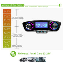 Load image into Gallery viewer, Bluetooth 5.0 FM Transmitter Car Kit USB Music AUX