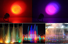Load image into Gallery viewer, RGB LED Waterproof Underwater Lights
