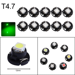 10x T3 T4.2 T4.7 T5 B8.3 B8.4 B8.5 LED Cluster light Bulbs 1210 5050 SMD