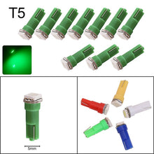 Load image into Gallery viewer, 10x T3 T4.2 T4.7 T5 B8.3 B8.4 B8.5 LED Cluster light Bulbs 1210 5050 SMD