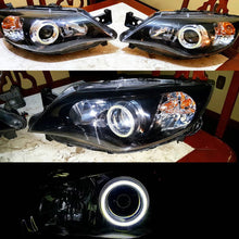 Load image into Gallery viewer, Single COB Car Angel Eyes Led Halo Ring Lights Fog Headlight Car  Motorcycle DC 12V all colors