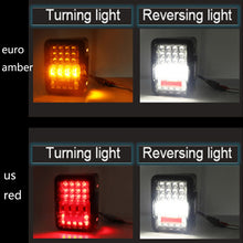 Load image into Gallery viewer, Smoked LED Tail Lights For 2007-2015 Jeep Wrangler JK 2 Qty