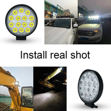 Load image into Gallery viewer, 4-inch 27W 42W 48W LED Spot Floodlight Work Light 12V 24V