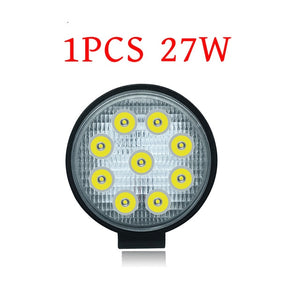 4-inch 27W 42W 48W LED Spot Floodlight Work Light 12V 24V