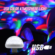 Load image into Gallery viewer, USB music sound control lamp RGB LED atmosphere