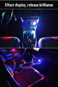 USB music sound control lamp RGB LED atmosphere
