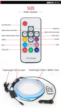 Load image into Gallery viewer, 12V LED Universal Flexible Strip Waterproof remote control
