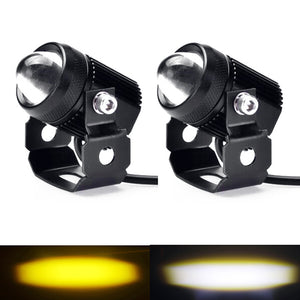 Led Headlight Work Fog Light 30W 24V Dual Color high/low Motorcycle  ATV SUV Tractor Yacht Truck