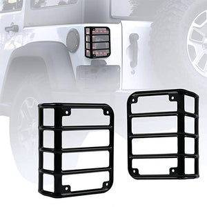 Tail light Mounting Bracket For Jeep JK Cover Guards 2PCS