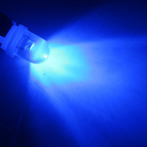 10X 6 volt led R lens T10 W5W 6V 6.3V White Blue RGB Red Green Amber
