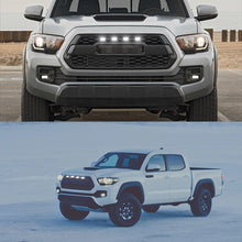 Load image into Gallery viewer, White/amber 12v Front Grille Lighting 16-20 Toyota Tacoma w/TRD Pro Grill ONLY Front Grille DRL