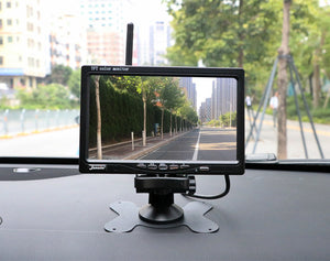 Wireless Truck Camera 7 inch For Trucks Bus RV Monitor Reverse Image 12V-24V Rear View Camera