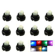 Load image into Gallery viewer, 10x T3 LED SMD Car Cluster Light  Bulbs