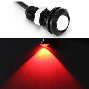 1 Piece 18mm Waterproof Eagle Eye LED DRL Car styling Light