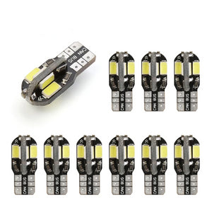 10 Pieces T-10 CAN-BUS white LED bulbs