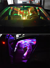 Load image into Gallery viewer, Led USB Car Atmosphere Light RGB 3W Sound Lamp