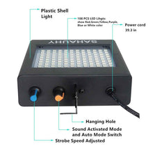 Load image into Gallery viewer, Super-Bright RGB Strobe Light 25W  LED  Effect light Auto Sound Activated DJ Disco Party