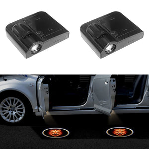 2PCS Wireless Car Door Welcome Logo Light Shadow Laser Projector