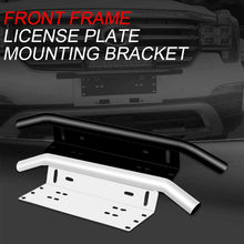 Load image into Gallery viewer, Off-road Front Holder License Number Plate Bracket Mount (Silver)