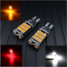 Load image into Gallery viewer, 2pcs T10 T15 LED Bulbs For Backup Parking Light Red White Amber