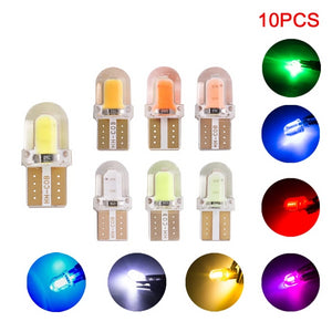 10pcs T10 LED No Error silicone For Car Parking Lights