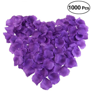 1000 pétales de rose artificielles