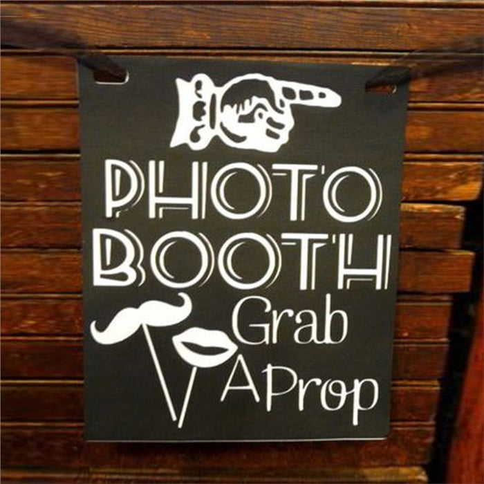 """Photo Booth"" panneau de Bienvenue"