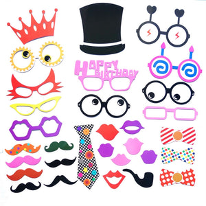 29pcs accessoires Photo Booth