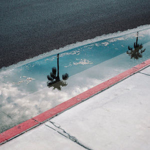 Road Trip - Puddle in Palm Springs
