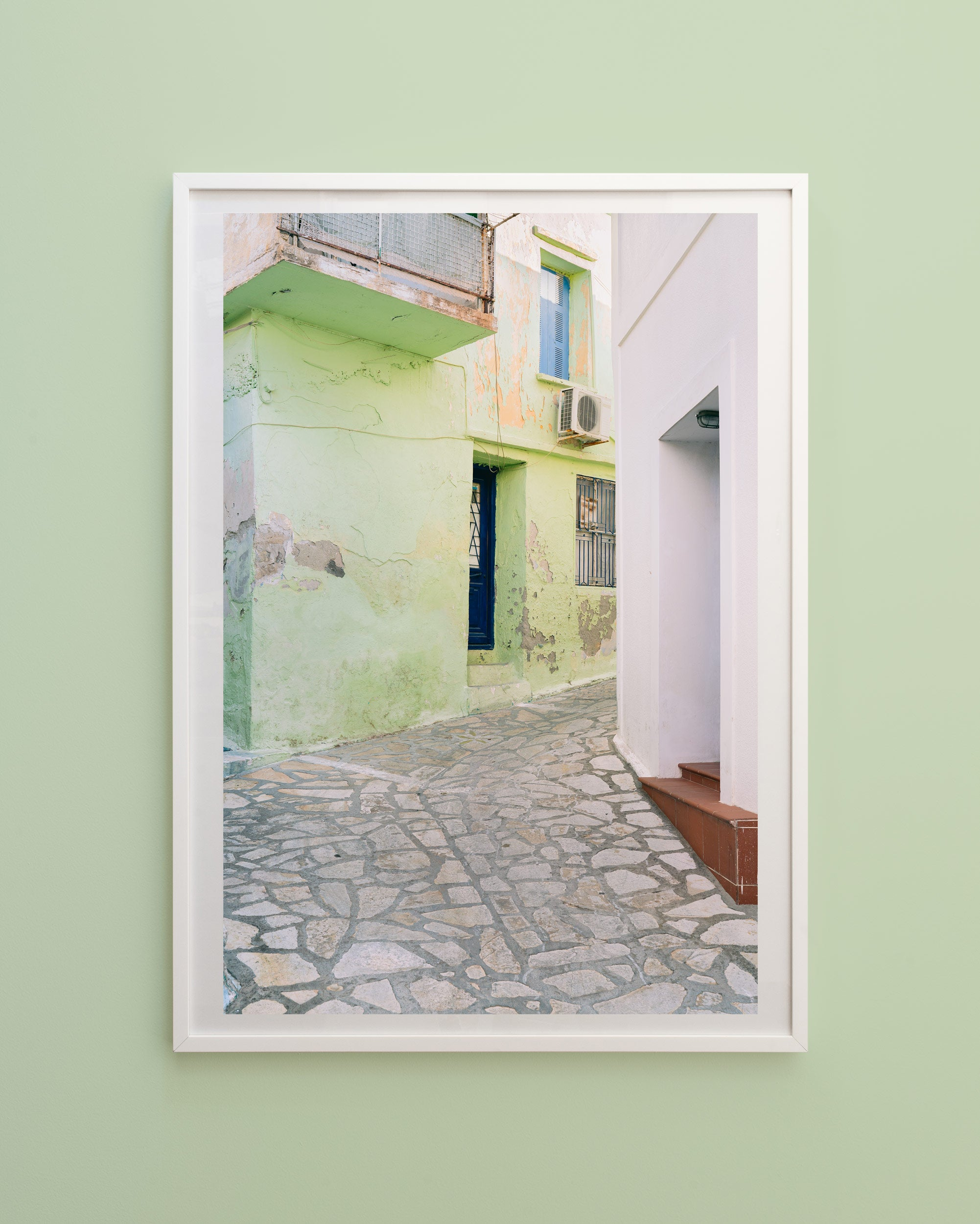 Pastels of Samos - Green