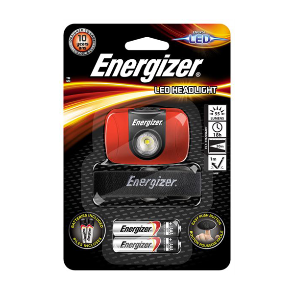 Energizer LED Headlight - 20 Metres