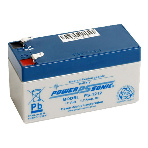 Power-Sonic PS1212 12V 1.2Ah SLA Battery